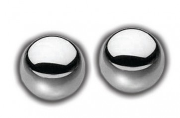 Sex & Mischief Kegel Steele Silver Duo Balls