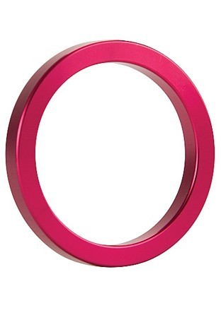 Ouch Metal Cockring Pink