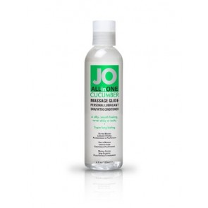 JO Sensual Massage Glide Cucumber 4oz/118ml