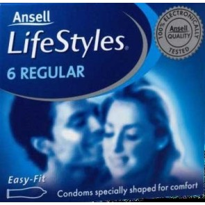Ansell Lifestyles 6s Regular