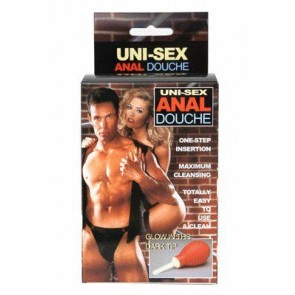 Uni Sex Anal Douche Red