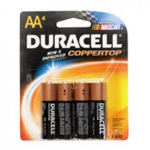 Duracell AA Carded Batteries (4 pack)