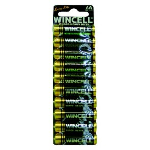 Wincell AA Super Heavy Duty Carded (10 pack)