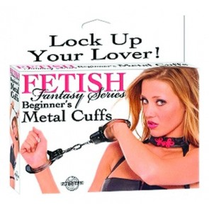 Fetish Fantasy Beginners Metal Cuffs