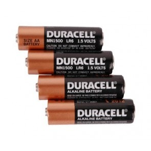 Duracell AA Alkaline Shrink pack Batteries (4 pack)