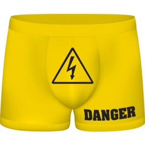 S-Line Funny Boxers Danger