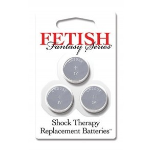 Fetish Fantasy Shock Therapy Replacement Batteries (3 pack)