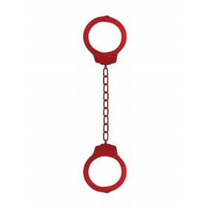 Ouch Beginners Legcuffs Red