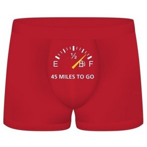 S-Line Funny Boxers 45 Miles To Go