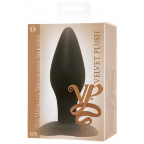 Velvet Plush Silicone Pleaser.