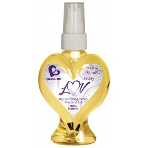 Rocks Off Luv Massage Oil Fruity