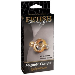 Fetish Fantasy Gold Magnetic Clamps Gold