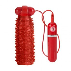 10-Function Adonis Vibrating Stroker - Red