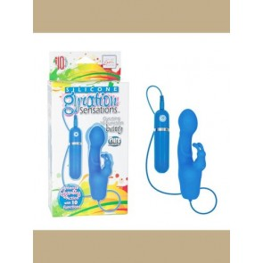 Gyration Sensations Gyrating 10 Function Bunny Blue