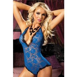 Life In The Fast Lane Lace teddy STM-9498P-OS-Blu